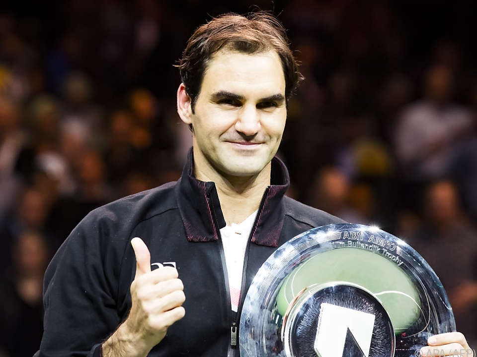 Federer siegte in Rotterdam und ist wieder die Nummer 1