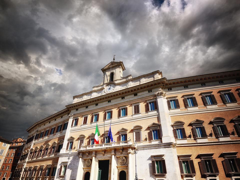 Montecitorio, Camera dei Deputati, Roma italien parlament wahlurne sym