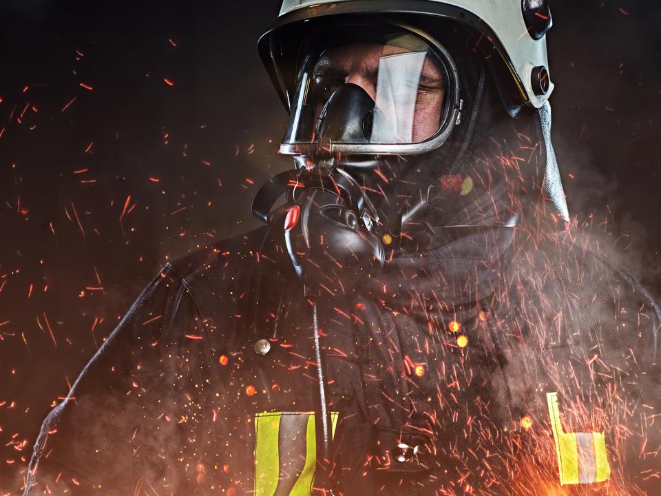 feuerwehr feuerwehrmann symbol brand flammen funken atemschutz