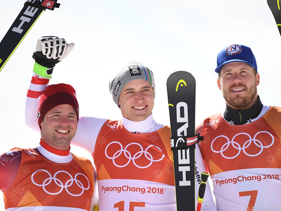 Für Mayer war es die zweite Goldene bei Olympischen Spielen