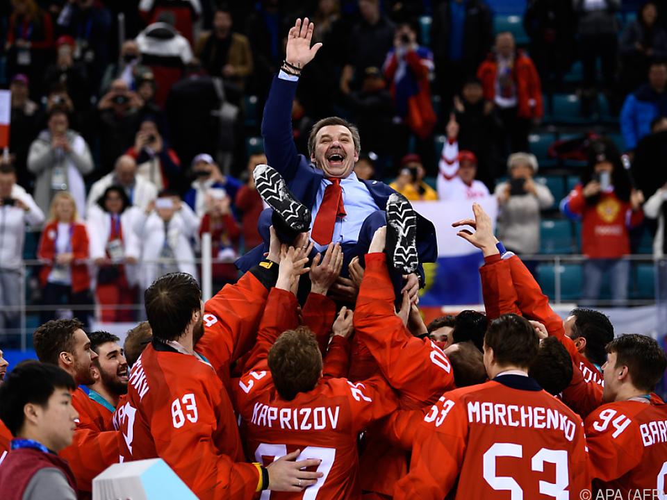 Für Russland ist die Sport-Welt wieder halbwegs in Ordnung
