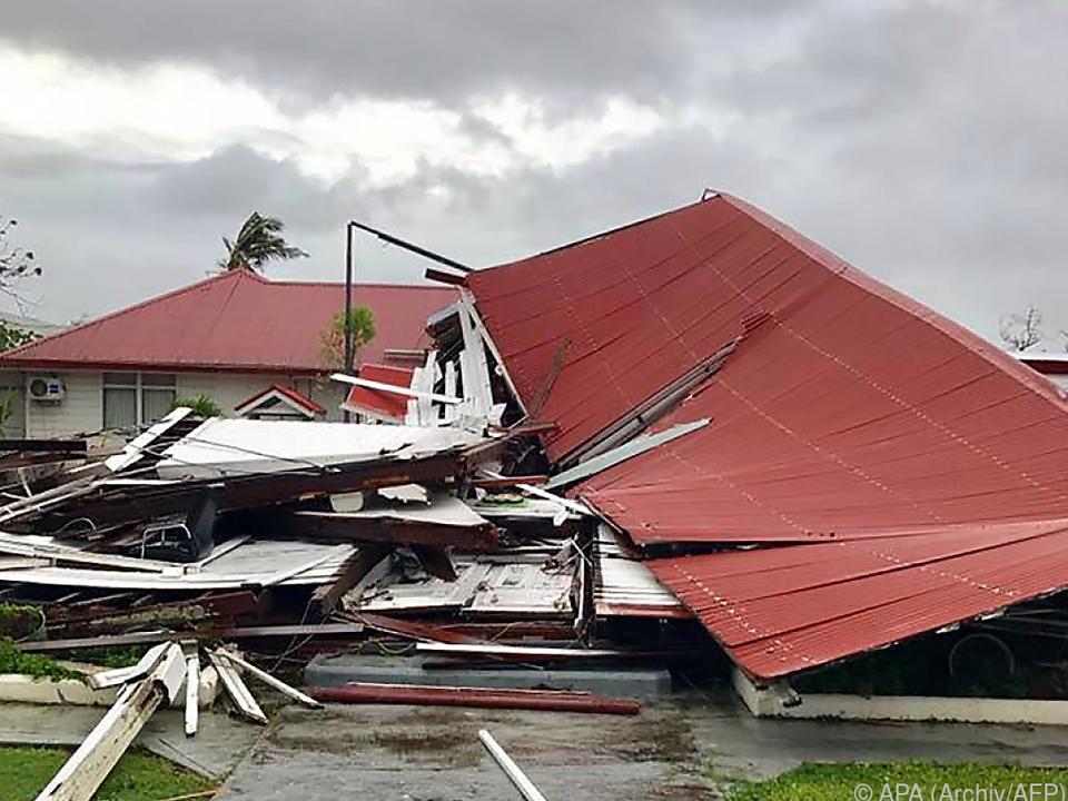 Gita sorgte bereits für massive Zerstörungen