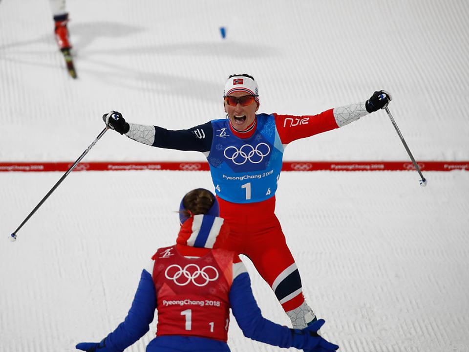 Gold für die norwegischen Langlauf-Damen