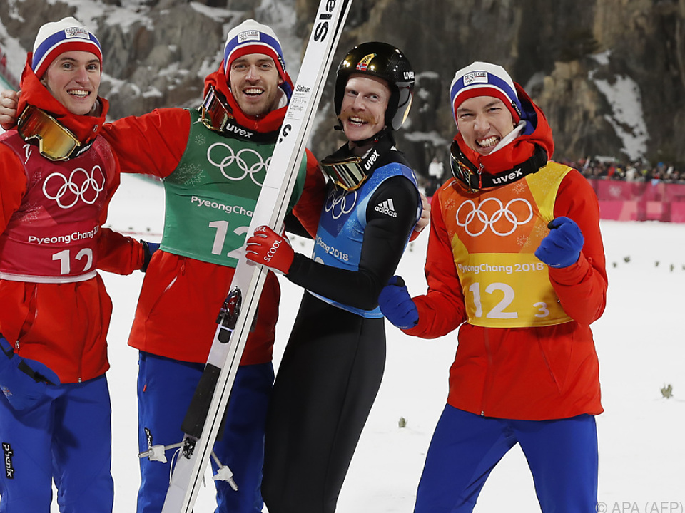Gold ging an die norwegische Mannschaft