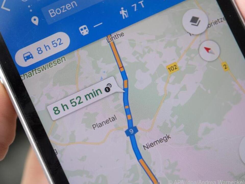Google Maps Go ist klein und schnell