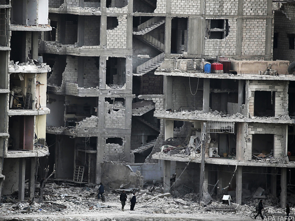 Humanitäre Situation in Ost-Ghouta ist verheerend