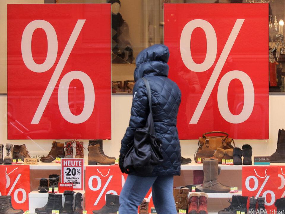 Im Dezember gab es zwei Einkaufstage weniger