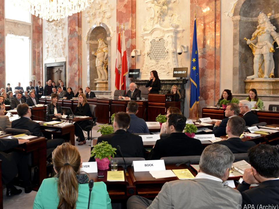 Im Landtag in Innsbruck wird es viele neue Gesichter geben