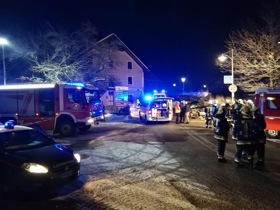 Unfall Freiwillige Feuerwehr Mitterolang