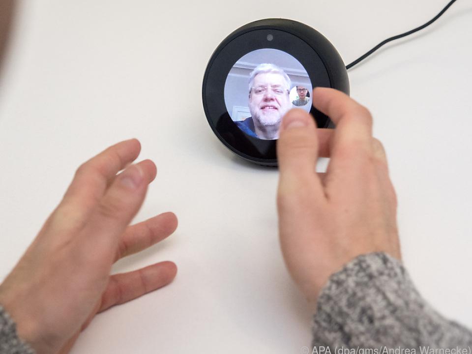 Der Echo Spot eignet sich ganz gut für Videokonferenzen