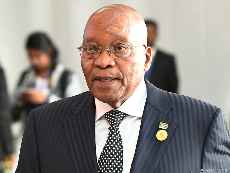 Jacob Zuma steht vor der Ablöse