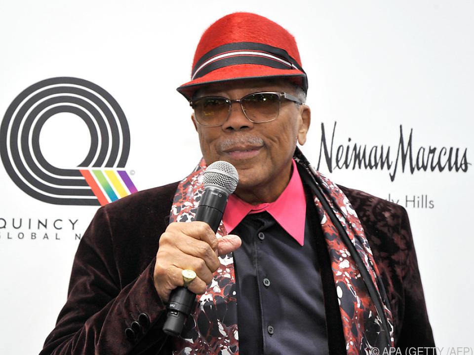 Jones war an Jacksons größten Alben \