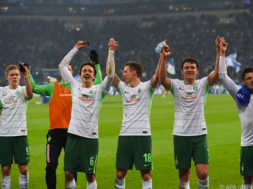 Jubel bei Schalke