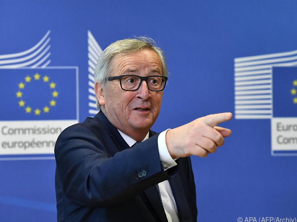 Juncker will die EU \