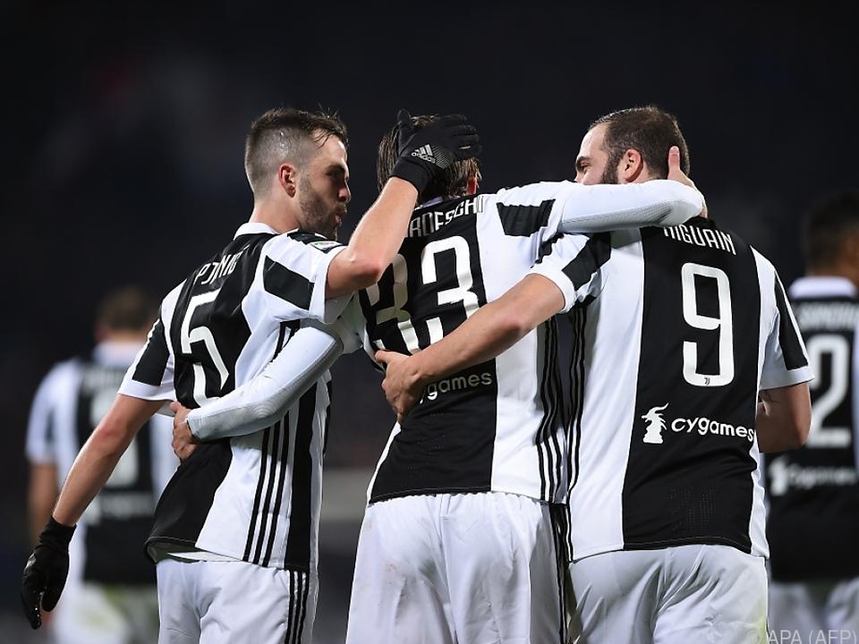 Juventus hat die letzten elf Pflichtspiele gewonnen