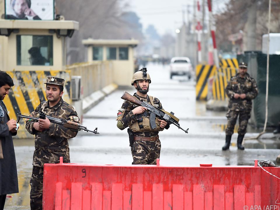 Kabul im Ziel der Taliban