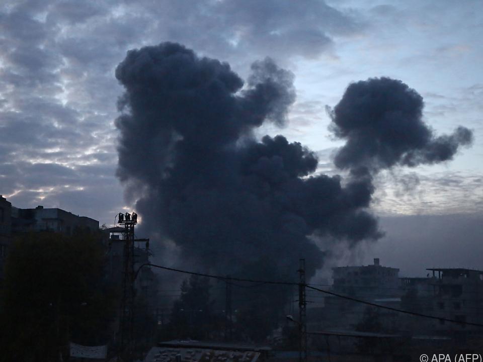 Kein Ende der Gewalt in Syrien