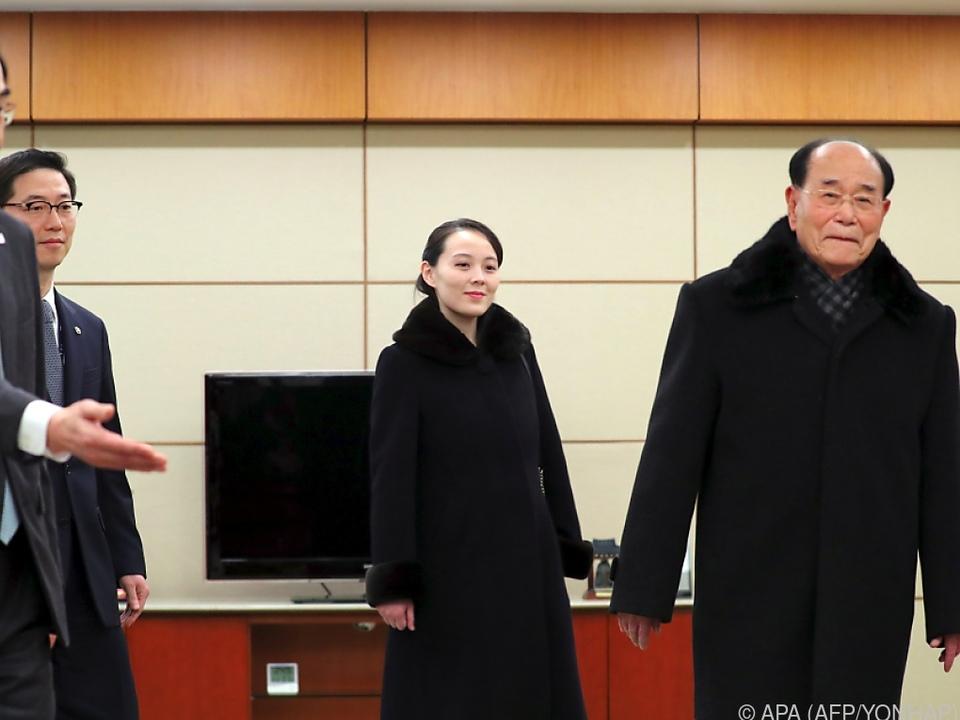 Kim Yo-jong zu historischem Besuch in Südkorea