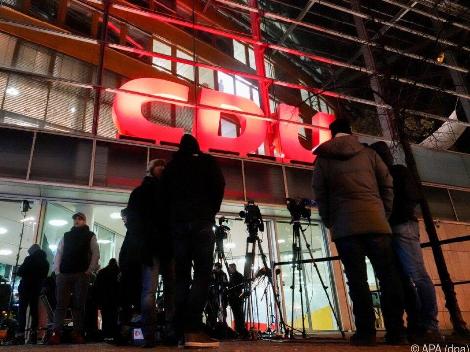 Koalitionsverhandlungen gehen in CDU-Zentrale über die Bühne
