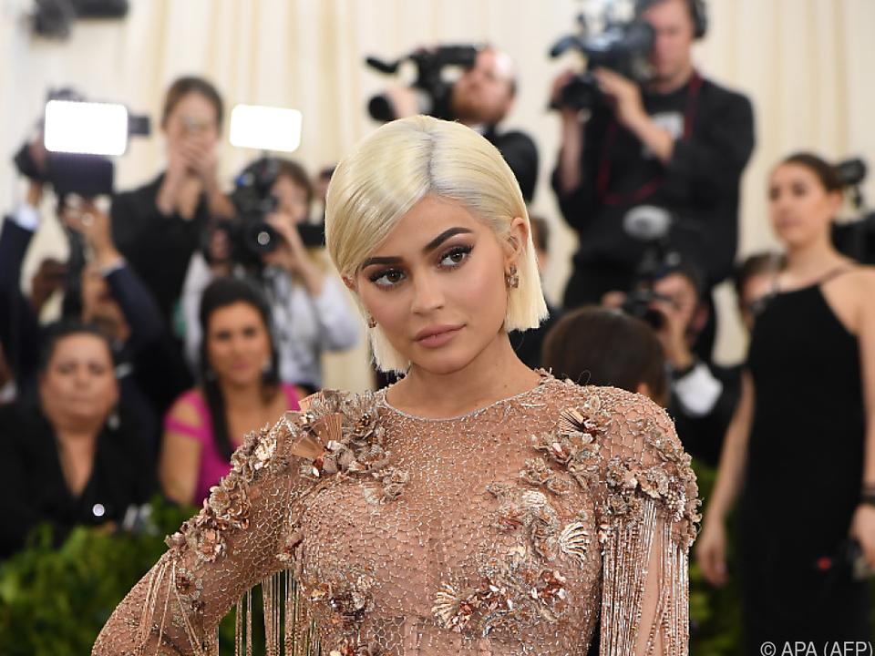 Kylie Jenner ist in den sozialen Medien sehr aktiv