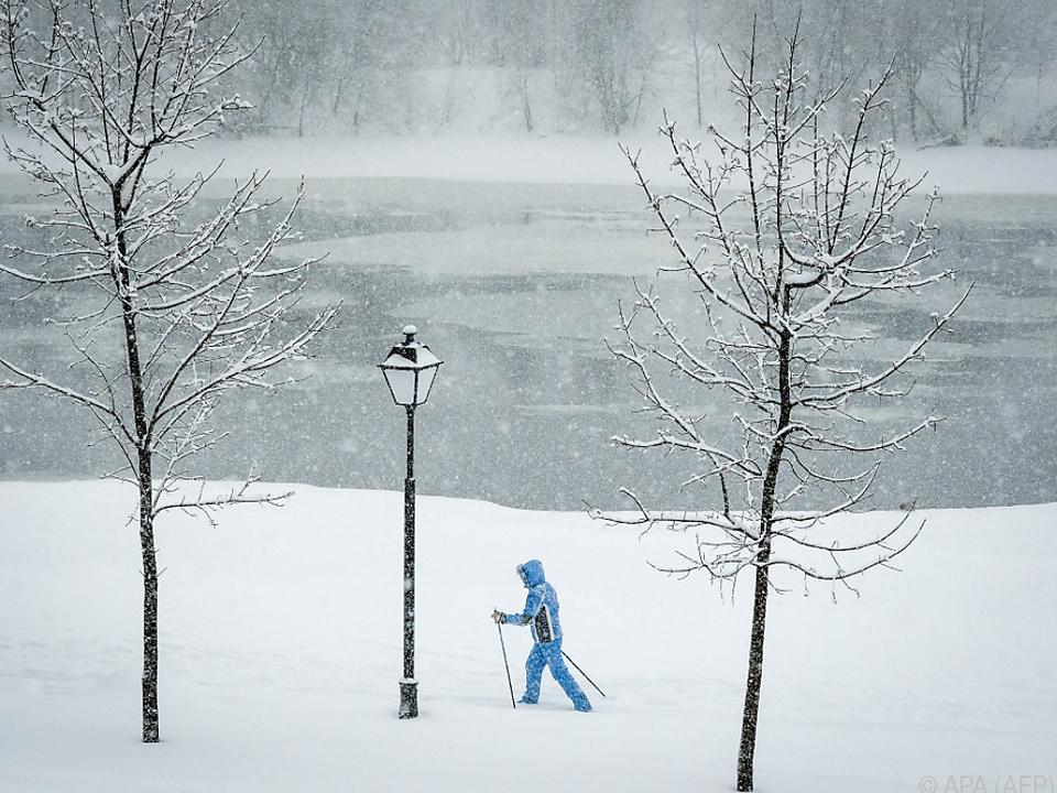 Langlaufen mitten in Russlands Hauptstadt