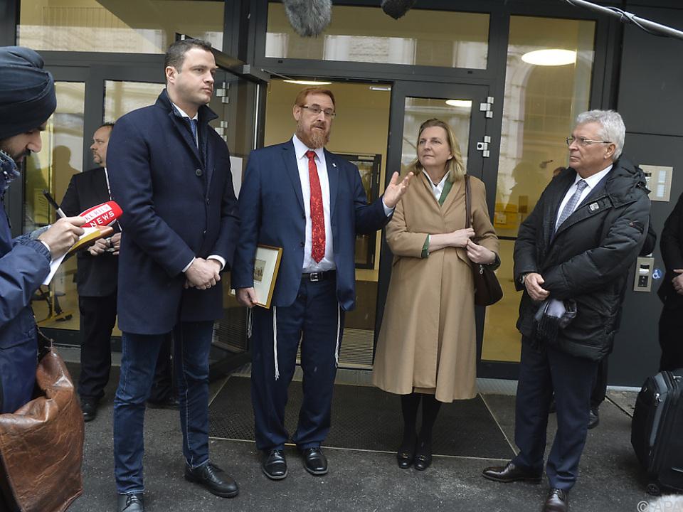 Likud-Abgeordneter Glick traf Außenministerin Kneissl