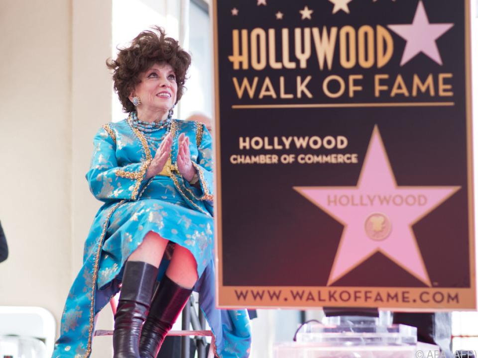 Mit 90 Jahren nahm sie den weiten Weg nach Hollywood auf sich