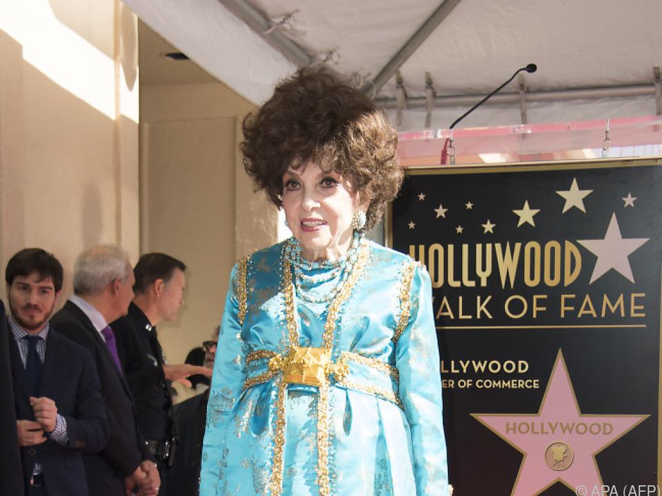 Lollobrigida wurde in Hollywood wie eine Königin behandelt