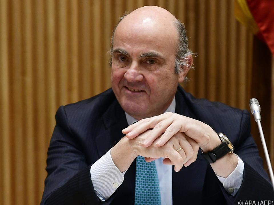 Luis de Guindos ist einziger verbleibender Kandidat