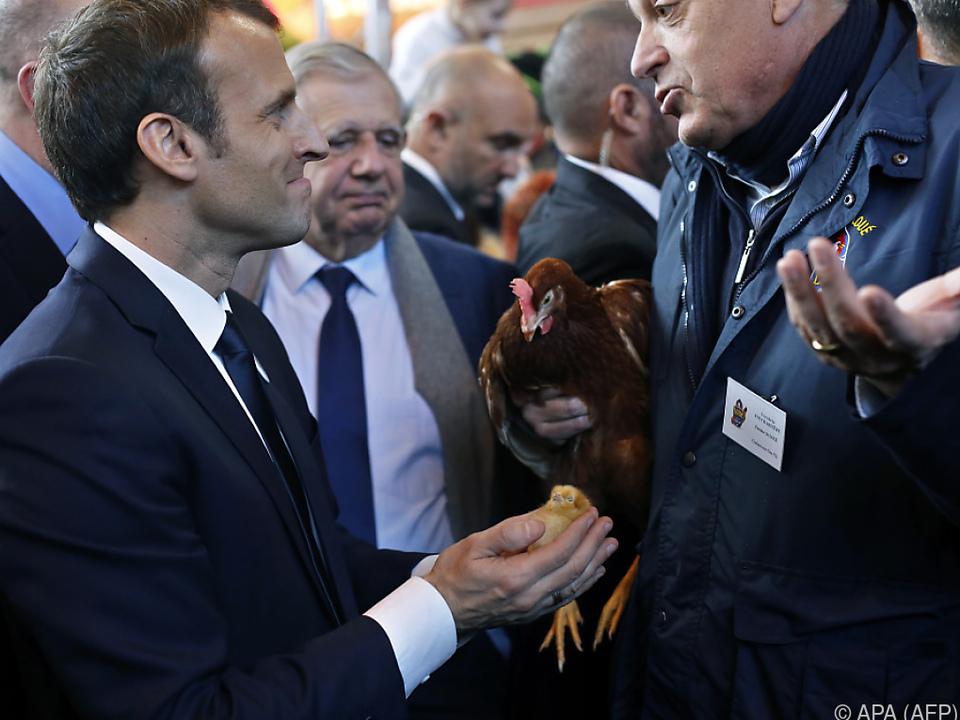 Macron: \