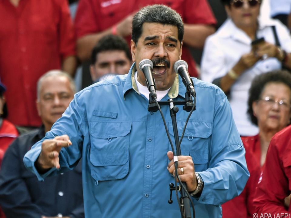 Maduro muss keinen Militärputsch fürchten