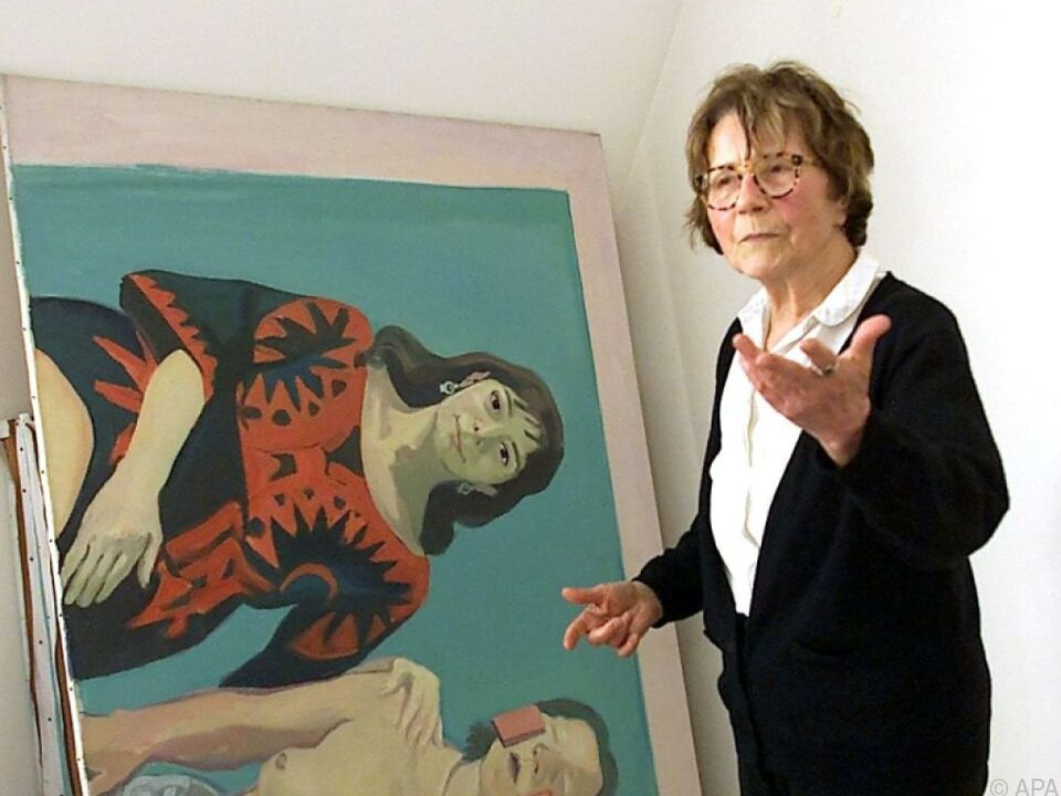 Maria Lassnig verstarb 2014 mit 94 Jahren