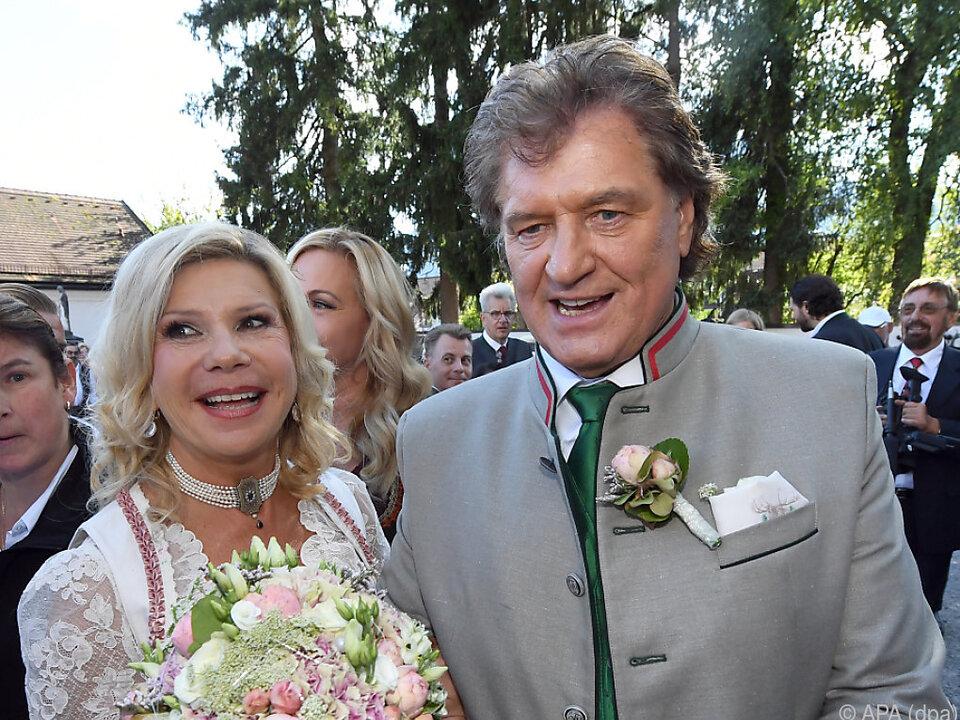 Marianne und Michael Hartl heirateten 2016 kirchlich