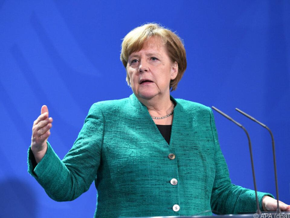 Merkel fordert gegenseitige Solidarität der Mitgliedsländer ein