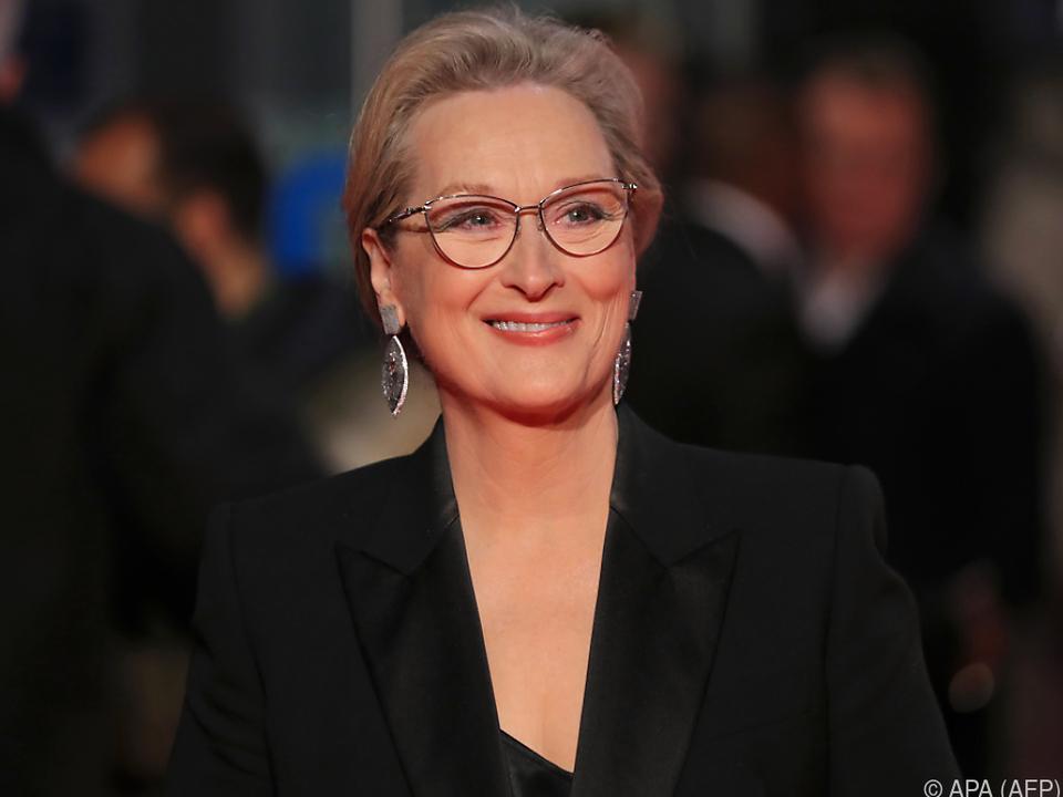 Meryl Streep wurde von Weinstein respektvoll behandelt