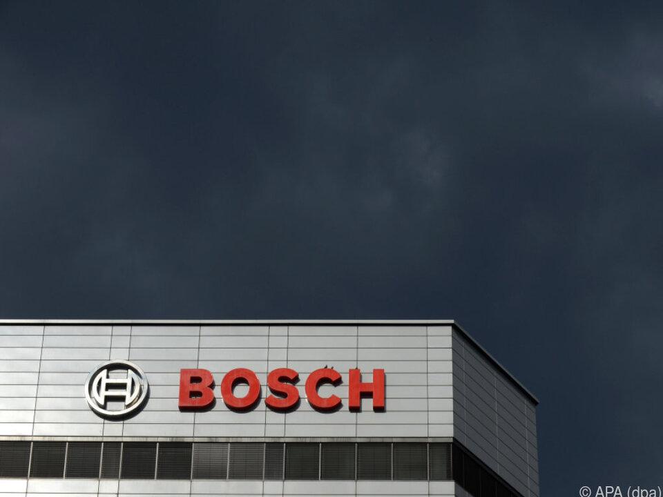 Millionenstrafe für Bosch