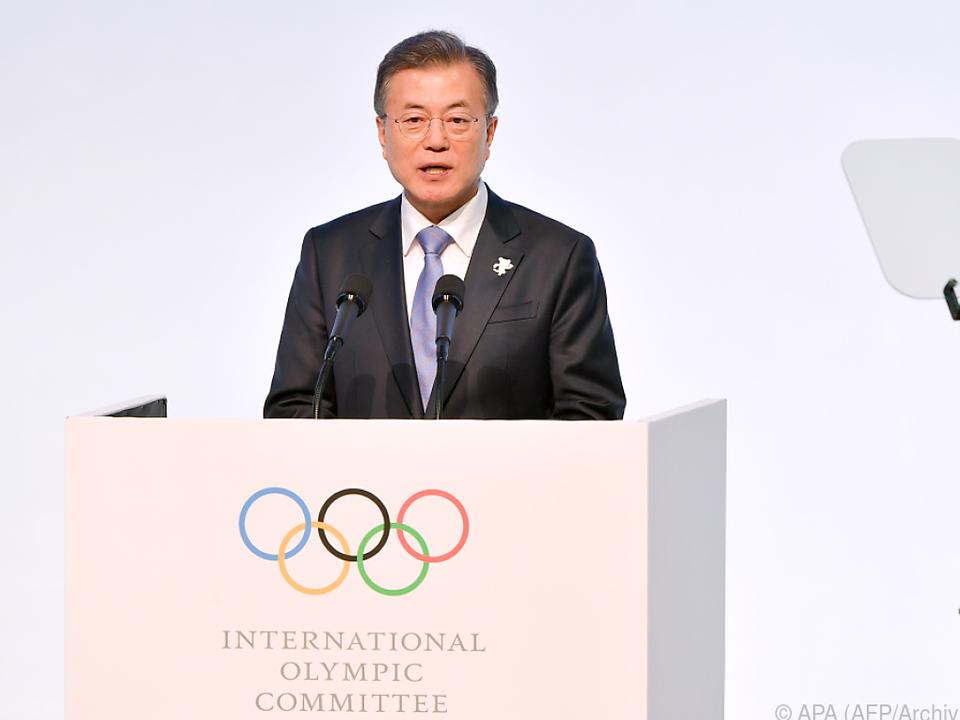 Moon Jae-in nutzt Olympia für Diplomatie