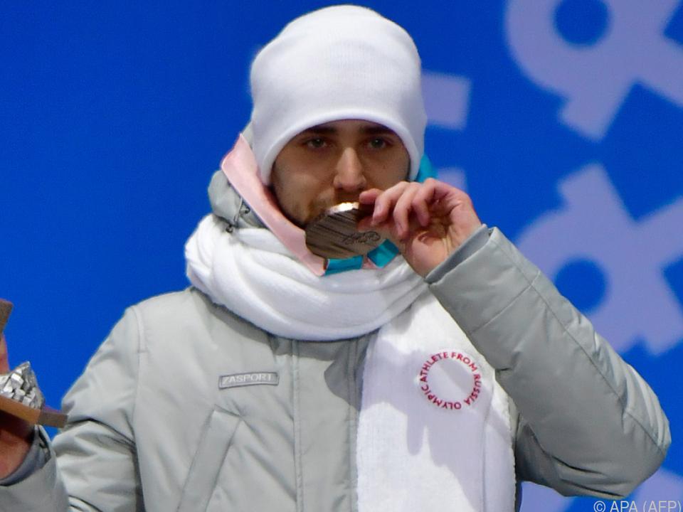 Muss der Russe seine Medaille wieder zurückgeben?