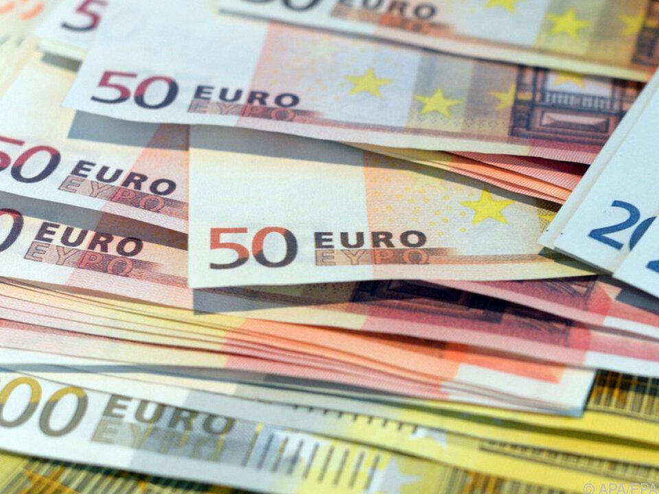Nach wie vor werden Unmengen an Banknoten gedruckt