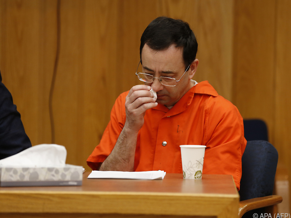 Nassar wurde bereits zu 175 jahren Haft verurteilt