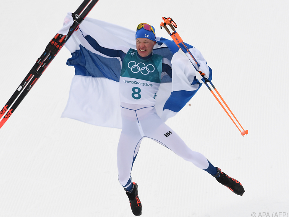 Niskanen bescherte Finnland die erste Goldmedaille