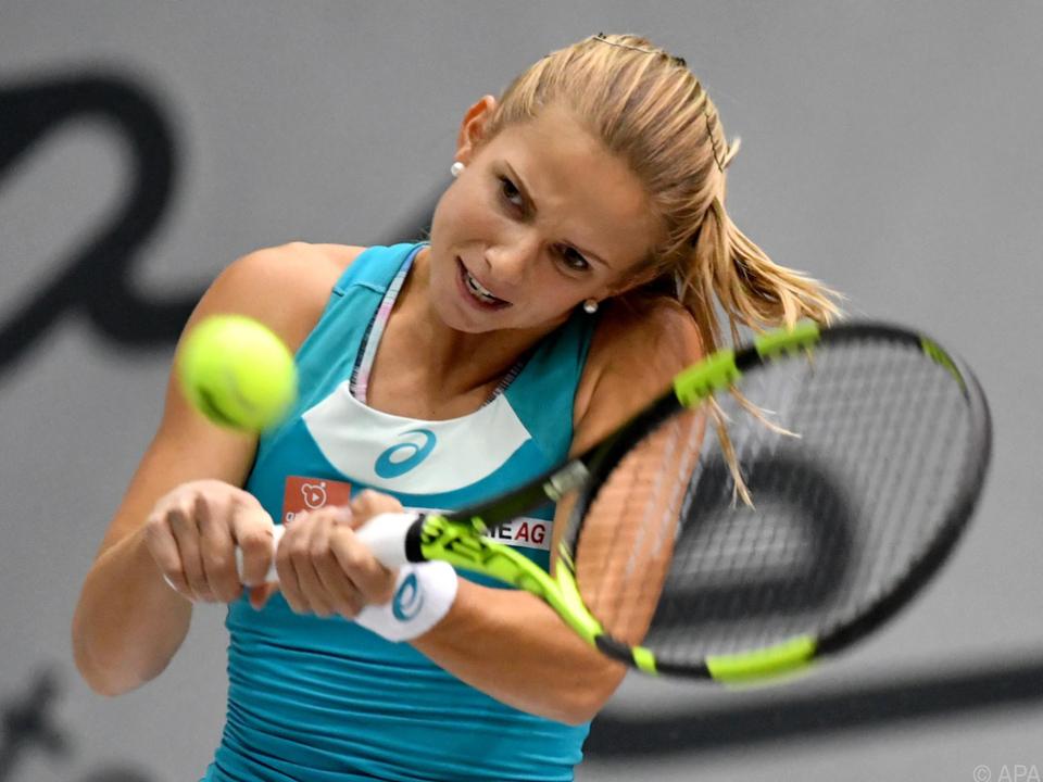 Österreichs Nummer 1 Barbara Haas verlor ihre Partie