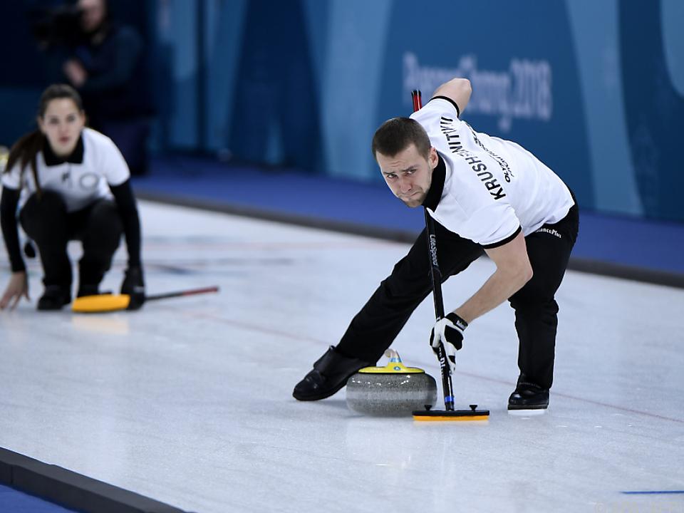 Olympia-Curler Kruschelnizki steht unter Doping-Verdacht