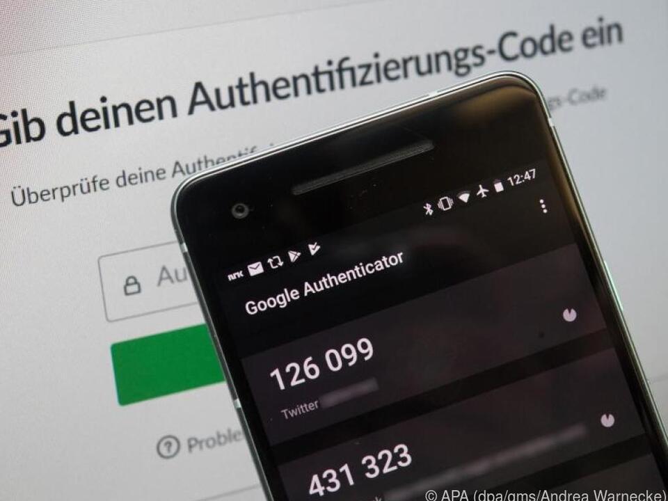 Online-Konten schützt man am besten mit einer Zweifaktor-Authentifizierung