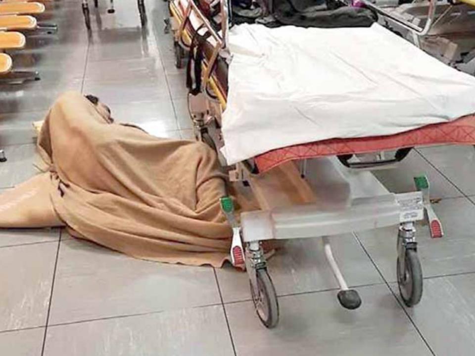 krankenhaus erste hilfe obdachlos