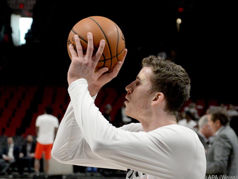 Pöltl freute sich über den Sieg gegen Miami Heat