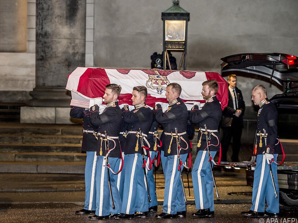 Prinz Henrik starb im Alter von 83 Jahren