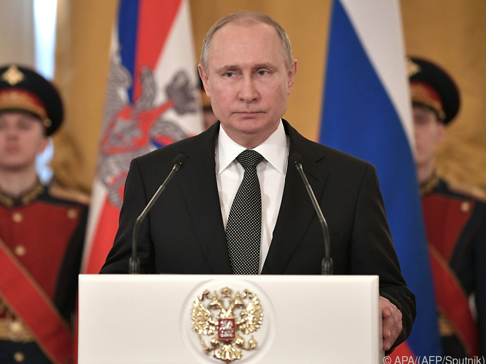 Putin erteilte den Auftrag für den Korridor