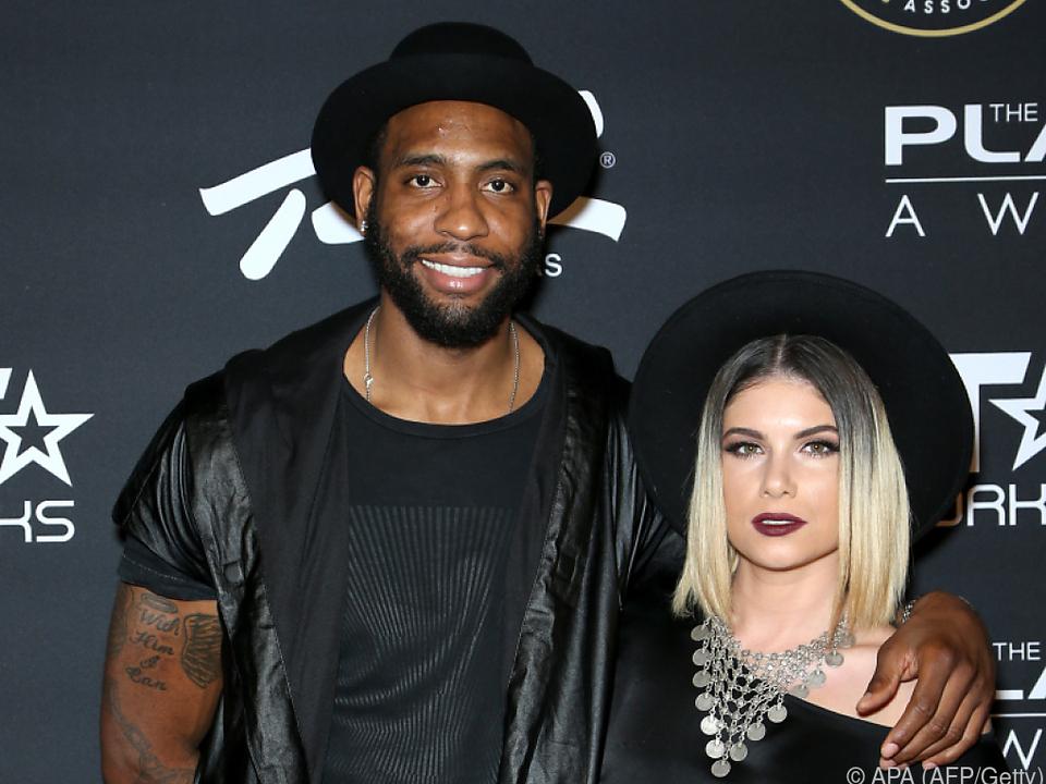 Rasual Butler mit seiner Frau, der Sängerin Leah Labelle