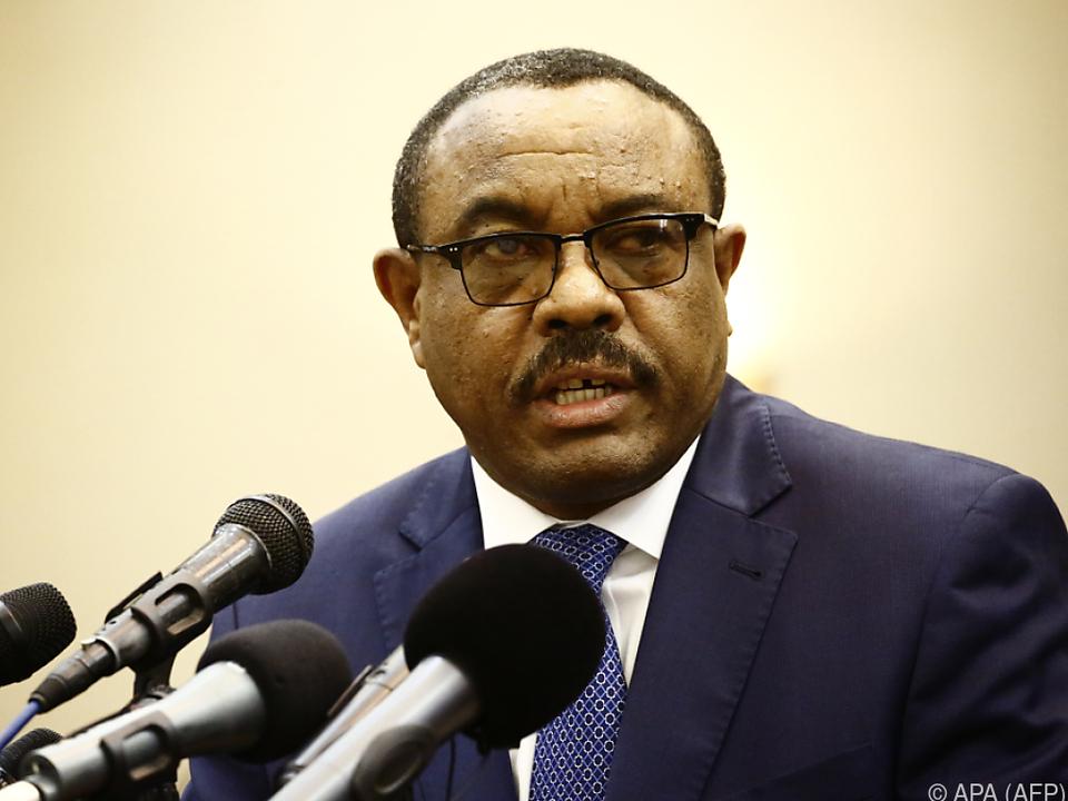 Regierungschef Hailemariam Desalegn trat am Donnerstag zurück